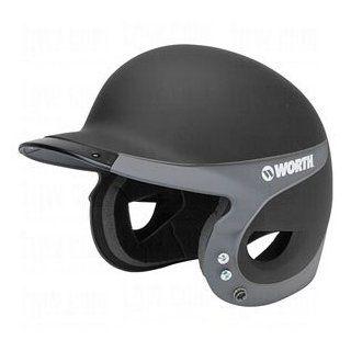 Rawlings Worth Liberty Advanced Away Softball Batting Helmet, Matte Black/Matte Graphite  Baseball Batting Helmets  Sports & Outdoors
