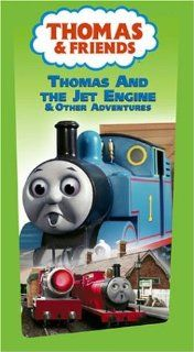 Thomas The Tank Engine And Friends   Thomas and The Jet Engine [VHS]: Michael Angelis, Michael Brandon, Ben Small, Keith Wickham, Kerry Shale, Martin Sherman, Matt Wilkinson, Alec Baldwin, William Hope, George Carlin, Teresa Gallagher, Ringo Starr, Lindsey