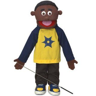 Jordan African American Kids Full Body Puppets Toys, 25 x 12 x 10 (in.) Toys & Games