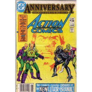 Action Comics, Vol 46 #544 (Comic Book) Anniversary, 45th Year VARIOUS Books