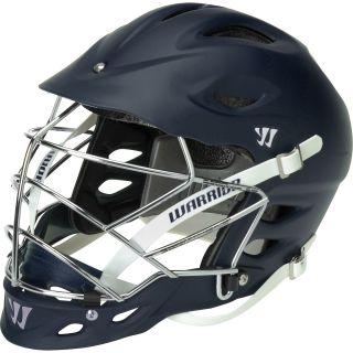 WARRIOR TII Matte Lacrosse Helmet, Navy