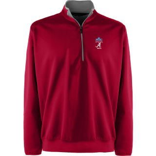 Antigua Mens Leader Pullover w/ Sugar Bowl Alabama Crimson Tide Logo   Size: