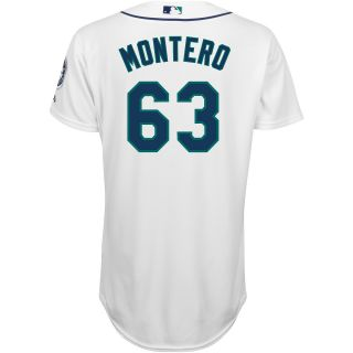 Majestic Athletic Seattle Mariners Jesus Montero Authentic Home Jersey   Size: