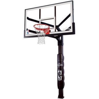 Spalding 86724HGP NBA Advanced Performance Tempered Glass 72 Inch Screw Jack In