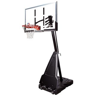Spalding 68562 NBA 60 Inch Acrylic Screw Jack Portable Basketball System (68562)