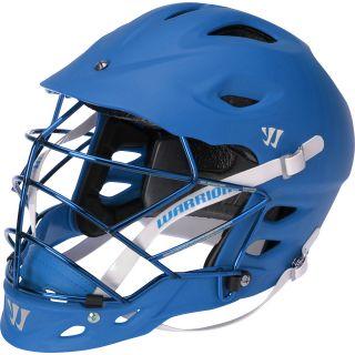 WARRIOR TII Matte Lacrosse Helmet, Blue