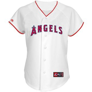 Majestic Athletic Los Angeles Angels Womens C. J. Wilson Replica Home Jersey