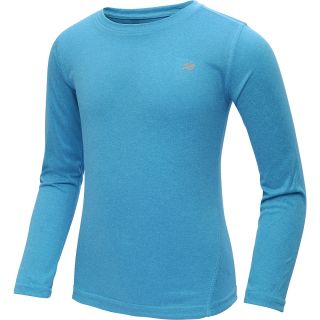 NEW BALANCE Girls Vital Long Sleeve Shirt   Size XS/Extra Small, Turquoise