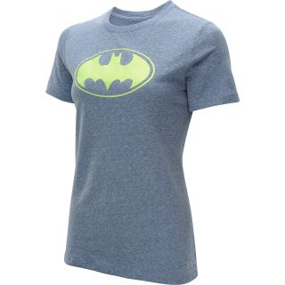 UNDER ARMOUR Womens Alter Ego Batgirl Tri Blend Short Sleeve T Shirt   Size: