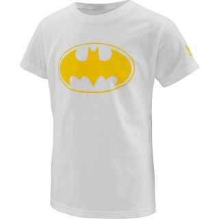 UNDER ARMOUR Girls Alter Ego Batgirl Sparkle Short Sleeve T Shirt   Size: