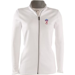 Antigua Womens Leader Full Zip Jacket w/ Sugar Bowl Alabama Crimson Tide Logo