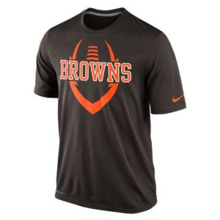 Nike Legend Icon (NFL Cleveland Browns) Mens T Shirt   Seal Brown