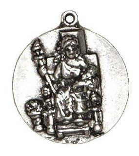 Demeter Goddess Pewter Pendant: Jewelry