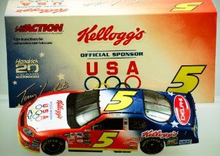 Action   NASCAR   Terry LaBonte #5   2004 Chevrolet Monte Carlo   Kellogg's / U.S. Olympics Paint   3,552 Produced   124 Scale   Die Cast Stock Car   Limited Edition   Collectible Toys & Games