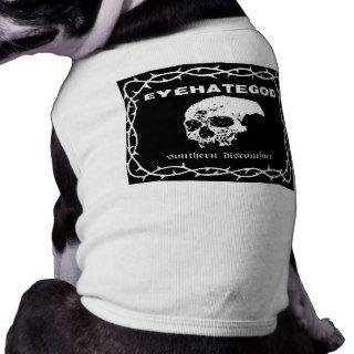 Eye Hate God Band Shirt Pet Clothing