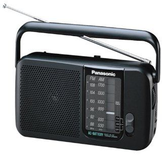 Panasonic RF544 AC/Battery Operated AM/FM Portable Radio (Discontinued by Manufacturer) Electronics