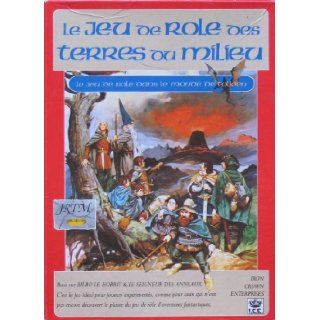 Le Jeu de Role des Terres du Milieu (MERP: French Edition) [BOX SET]: J.R.R. Tolkien: Books