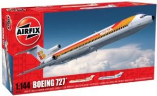 Airfix A04177 Boeing 727 1144 Scale Civil Aircraft Series 4 Model Kit Toys & Games