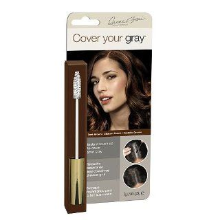Irene Gari Cover Your Grey for Women Temporary Touch Up Wand 7g/0.25oz   Dark Brown  Chemical Hair Dyes  Beauty