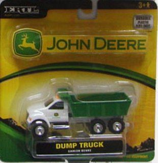 Ertl John Deere 1:64 Green and White Dump Truck with Working Dump Bed: Toys & Games