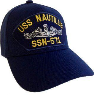 USS Nautilus SSN 571 Submarine Ball Cap Hat US Navy Nuclear Sub