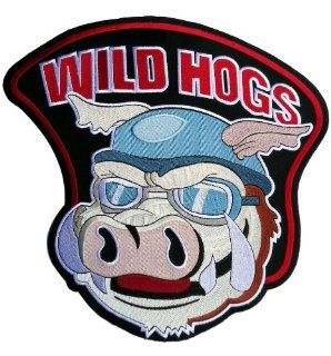 Wild hogs Movie embroidered outlaw biker patch 12 inches: Everything Else