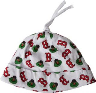 '47 Brand Boston Red Sox Newborn White Team Baby Beanie    Infant And Toddler Sports Fan Apparel  Clothing