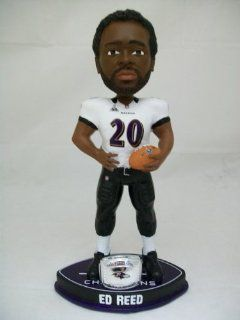 Ed Reed Baltimore Ravens Super Bowl 47 XLVII Bobblehead Forever Collectibles Sports Collectibles