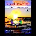 Visual BASIC 2010, How to Program   With DVD