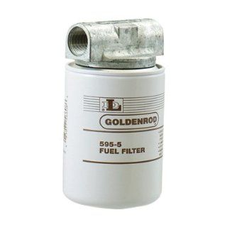 Goldenrod Spin On Fuel Filter   3/4in. Fittings, Model# 595 3/4: Automotive