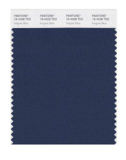 PANTONE SMART 19 4028X Color Swatch Card, Insignia Blue: Home Improvement
