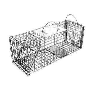 Tomahawk Rigid Live Trap for skunk, opossum, prairie dog, large squirrel & similar sized animals   Model 604.5 Tomahawk Live Trap Squirrel Traps  Home Pest Control Traps  Patio, Lawn & Garden
