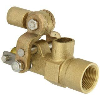 "Robert Manufacturing RF605T High Turbo Series Bob Red Brass Float Valve, 3/4"" NPT Female Inlet x Free�Flow Outlet, 27 gpm at 85 psi Pressure: Industrial Float Valves: Industrial & Scientific"