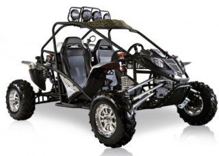 BMS Cherry Bomb 600 SILVER Gas 2 Cylinder 586cc Buggy Go Kart  Seated Sports Scooters  Sports & Outdoors