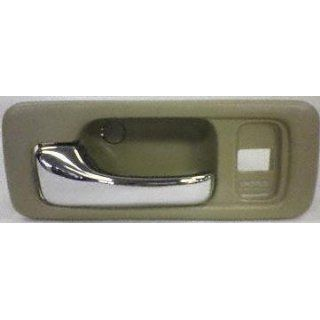 90 93 HONDA ACCORD FRONT DOOR HANDLE LH (DRIVER SIDE), Inside, w/ 1 Lock Hole, Cream, DX Model (1990 90 1991 91 1992 92 1993 93) H462112 Performance Automotive