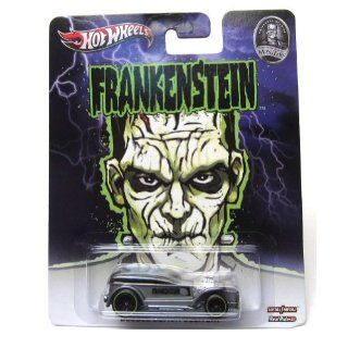 DOUBLE DEMON DELIVERY * FRANKENSTEIN / UNIVERSAL STUDIOS MONSTERS * Hot Wheels 2013 Pop Culture Series 1:64 Scale Die Cast Vehicle: Toys & Games