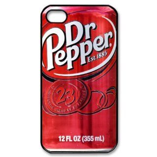 Dr Pepper Bottle Drink Personalized Iphone 4/4s Case: Cell Phones & Accessories