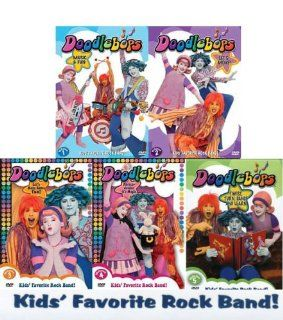 Doodlebops (5 PacK) Volumes 1/2/3/4/5: Movies & TV