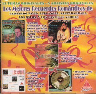 Los Mejores Recuerdos Romanticos De Varios Artistas [Import]: Music