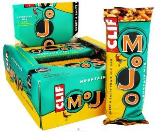 Clif Bar   Mojo Sweet & Salty Trail Mix Bar Mountain Mix   1.59 oz.: Kitchen & Dining