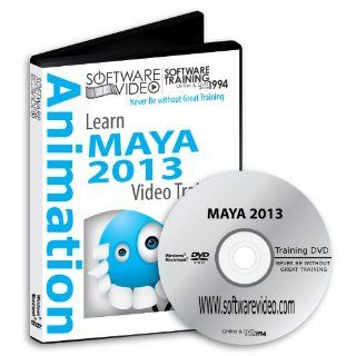 Software Video Learn Maya 2013 Training DVD Sale 50% Off training video tutorials DVD  Over 5 Hours of Video Training: Software