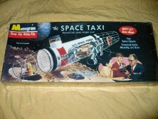 Vintage Monogram Space Taxi Transport and Work Ship Model Kit: Everything Else