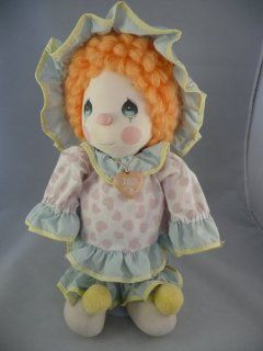 Vintage Precious Moments Collectible Clown Applause 1985 Plush Doll 4565 Peggy Toys & Games