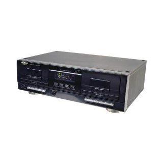 Pyle Pro Pt659du Dual Cassette Deck With  Conversion  Vehicle Electronics
