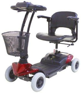 CTM HS 118 4 Wheel Electric Mobility Power Scooter RED Health & Personal Care