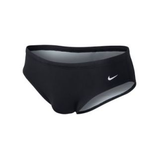 Nike Poly Core Solid Mens Swim Briefs   Black
