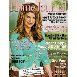 Kirstie Alley Ladies' Home Journal Magazine February 2006   Christopher Meloni Books
