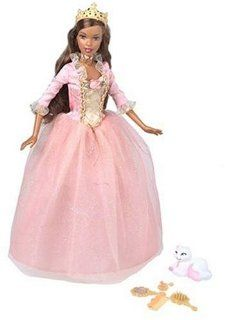 Barbie as the Princess and the Pauper   Princess Anneliese African American Doll Toys & Games