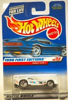 PANOZ GTR 1 * WHITE * 1998 FIRST EDITIONS SERIES #19 of 40 HOT WHEELS Basic Car 164 Scale Series * Collector #657 * Toys & Games