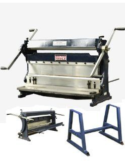 """BOLTON TOOLS 30"""" Combination 3 in 1 Sheet Metal Machine   COMBINATION 3 in 1 SHEAR, BRAKE AND ROLL. COMES WITH A 1 YEAR WARRANTY   Power Shears"""